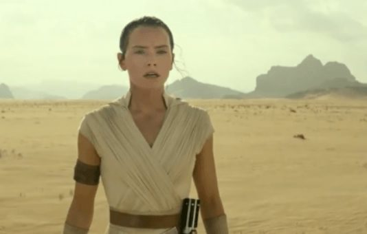 premiere image star wars IX rise of skywalker