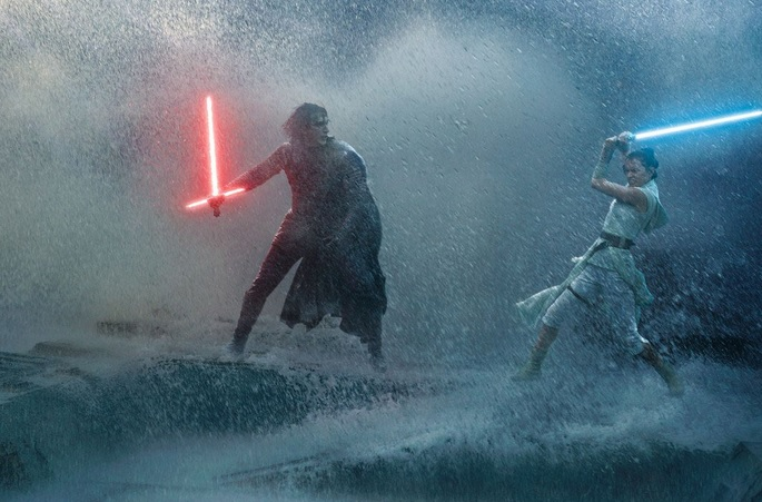 star wars 9 rey vs kylo