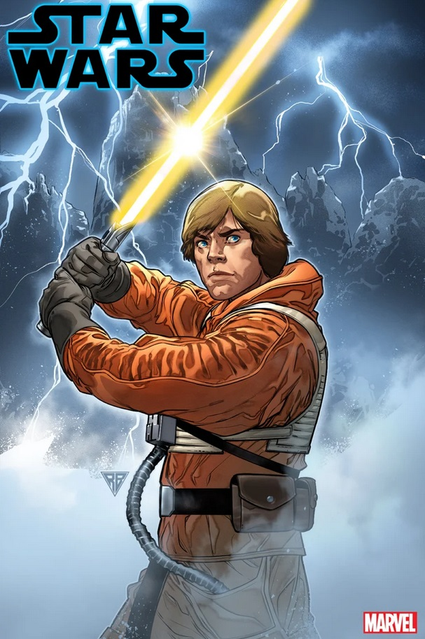 bd star wars 6 luke sabre jaune