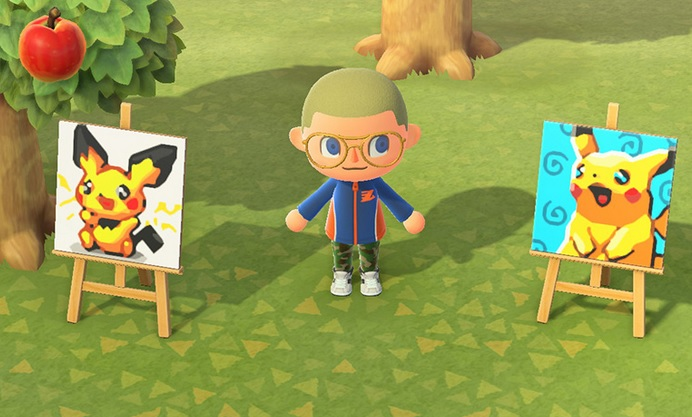 animal crossing new horizons scan qr code