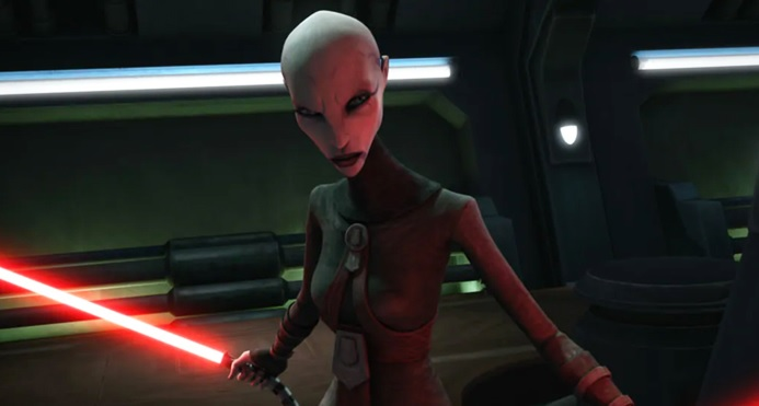 the clone wars asajj ventress