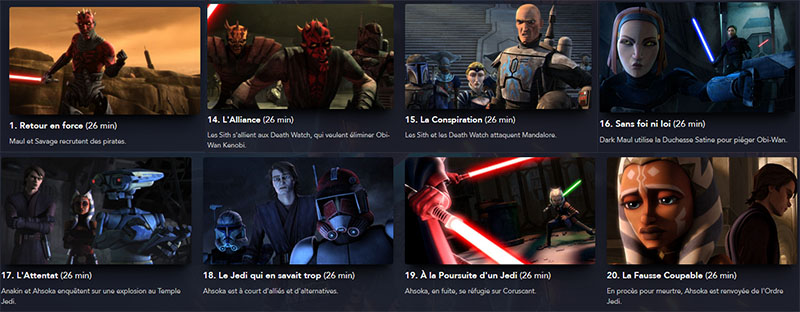 the clone wars saison 5 episodes a voir