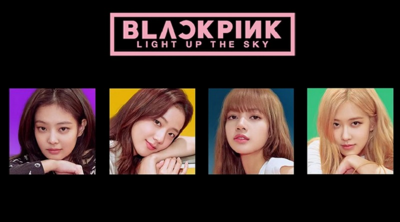 black pink light up the sky heure