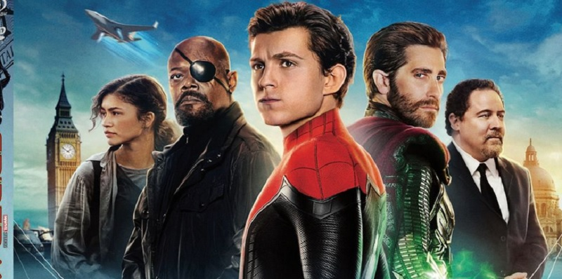 spider man far from home netflix france