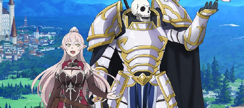 skeleton knight in another world anime